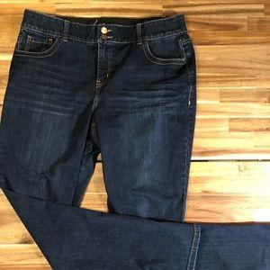 Lane Bryant bootcut jeans size 16